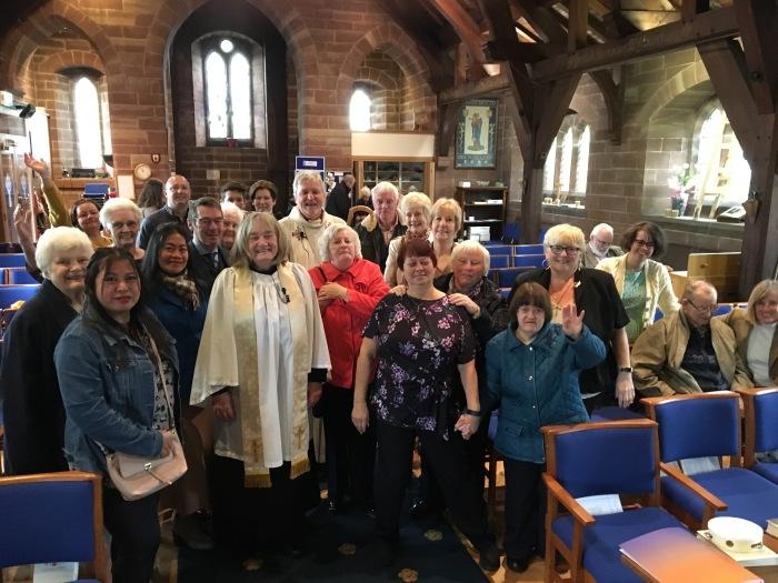 Bishop Keith visit